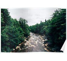 West Virginia Blackwater River Poster