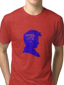Wibbly Wobbly Timey Wimey Tri-blend T-Shirt