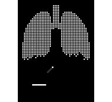 Pixel Lungs Photographic Print