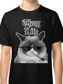 Thug Life Cat Classic T-Shirt