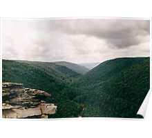 Lindy Point Overlook - West Virginia  Poster