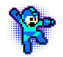Megaman Shooting flavour Photographic Print
