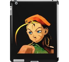 Cammy  streetfighter chick iPad Case/Skin