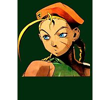 Cammy  streetfighter chick Photographic Print