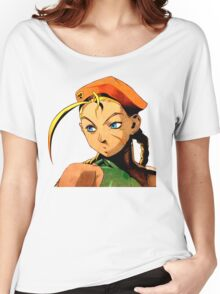 Cammy  streetfighter chick Women's Relaxed Fit T-Shirt
