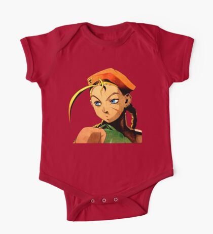 Cammy  streetfighter chick One Piece - Short Sleeve