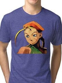 Cammy  streetfighter chick Tri-blend T-Shirt