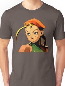 Cammy  streetfighter chick Unisex T-Shirt