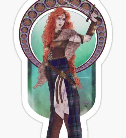 Boudicca (Badass Women of History Collection) Sticker