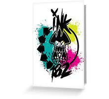 Ink 182 Greeting Card