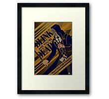 Corvo - Blink Framed Print
