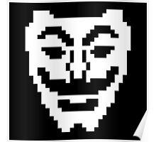 Fsociety Mask (Mr. Robot) Poster