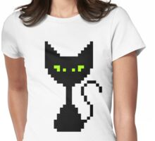 El Gato Negro Womens Fitted T-Shirt