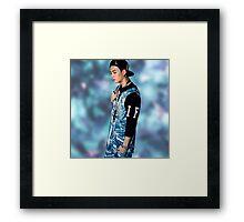 Jackson Wang Framed Print