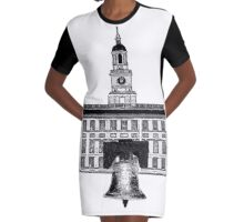 Graphic City of Brotherly Love Graphic T-Shirt Dress