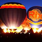 Strathaven Balloon Festival 2014...The Big Glow by ElsT