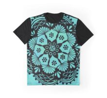 Ocean Mandala Graphic T-Shirt