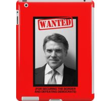 RICK PERRY MUG SHOT iPad Case/Skin