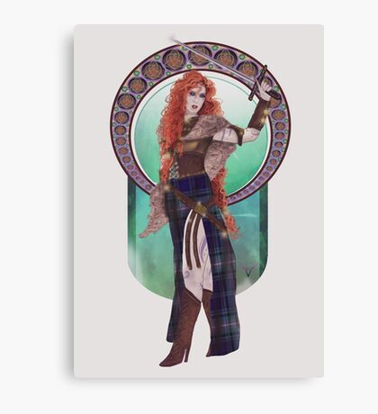 Boudicca (Badass Women of History Collection) Canvas Print