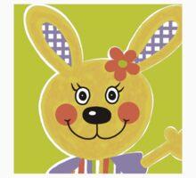 Farm Animals - Rabbit Kids Tee