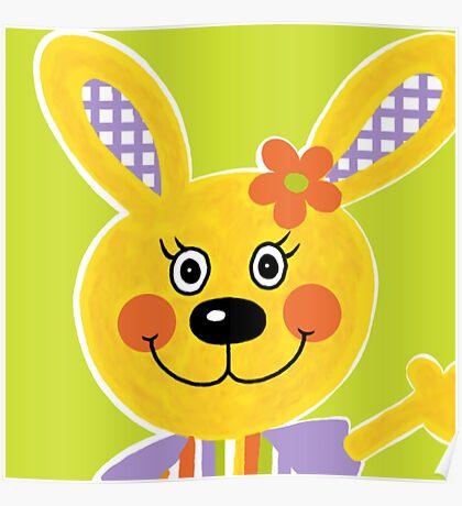 Farm Animals - Rabbit Poster