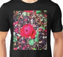 One Red Rose Unisex T-Shirt