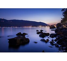 Rocks and Calm Sea Photographic Print