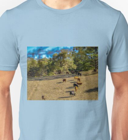 Cattle in the Adelaide Hills Unisex T-Shirt