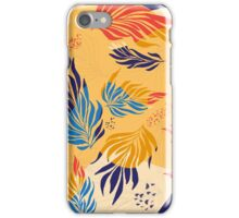 Primary Color  Leaves iPhone Case/Skin
