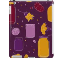 Pumpkin jam and slices seamless pattern iPad Case/Skin