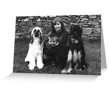 The fox and the Hounds! Greeting Card