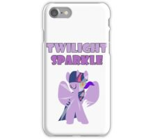 Dark Twilight Sparkle iPhone Case/Skin