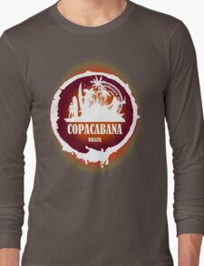 Downtown Beach..Copacabana Long Sleeve T-Shirt