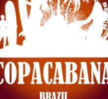 Downtown Beach..Copacabana Sticker