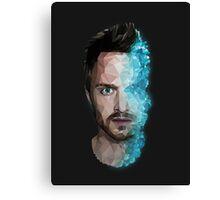 Breaking Bad ''Crystallized Jesse'' Canvas Print