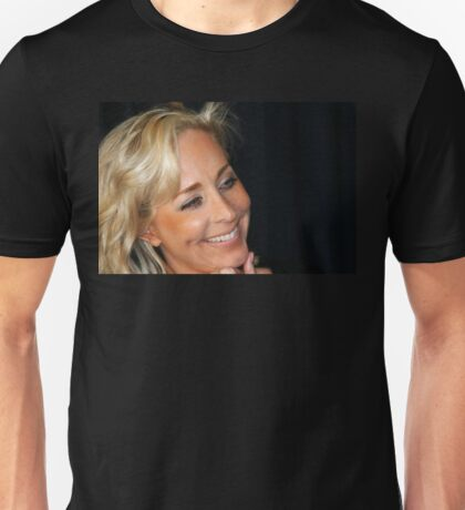 Blond Woman Smiling Unisex T-Shirt