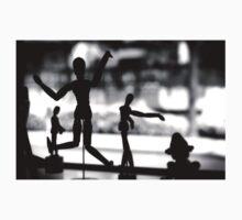 Wooden Puppet One Piece - Short Sleeve