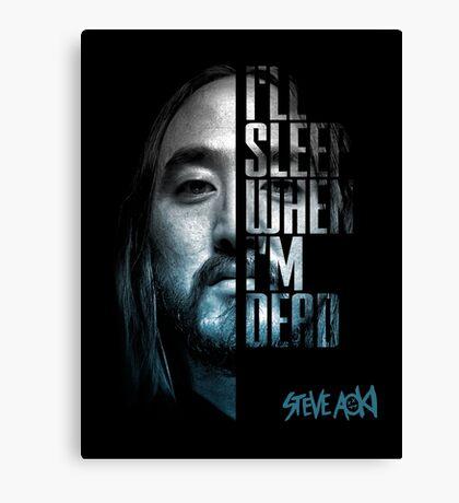 Steve Aoki - shirt  Canvas Print
