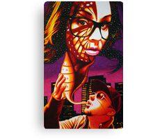 Kandi Darling Metamorphosis in Sharpie Canvas Print