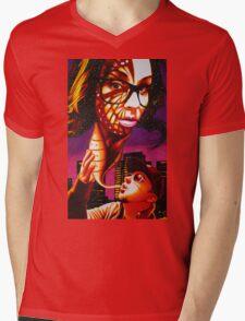 Kandi Darling Metamorphosis in Sharpie Mens V-Neck T-Shirt