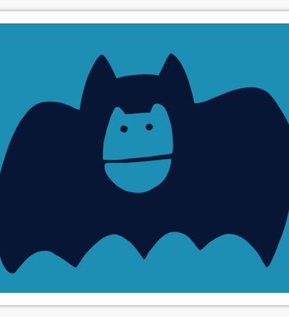 Mystery Girl Helmet Sticker: Black Bat Sticker