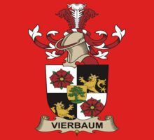 Vierbaum Coat of Arms (Austrian) Kids Clothes