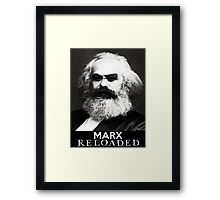 Marx reloaded Framed Print