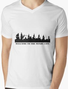 welcome to the windy city Mens V-Neck T-Shirt