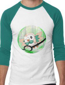 Rowlet Men's Baseball ¾ T-Shirt