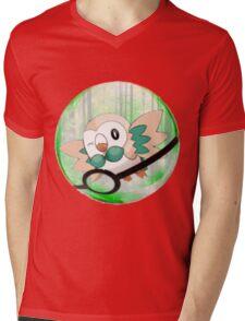 Rowlet Mens V-Neck T-Shirt