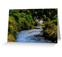 House on Margaree River Greeting Card