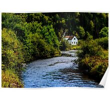 House on Margaree River Poster