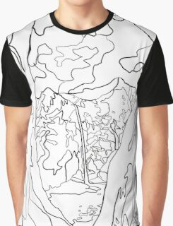 McWay Falls Graphic T-Shirt