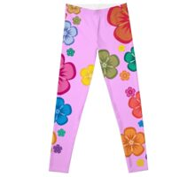 New age flower power Leggings
